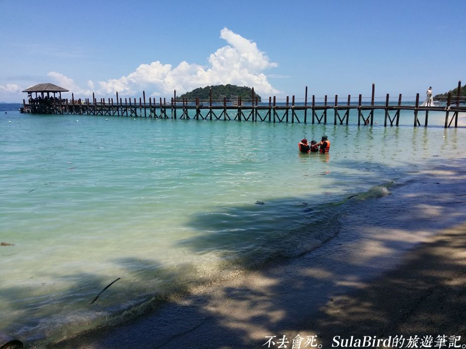 01島遊船票(Manukan、Mamutik island)8_