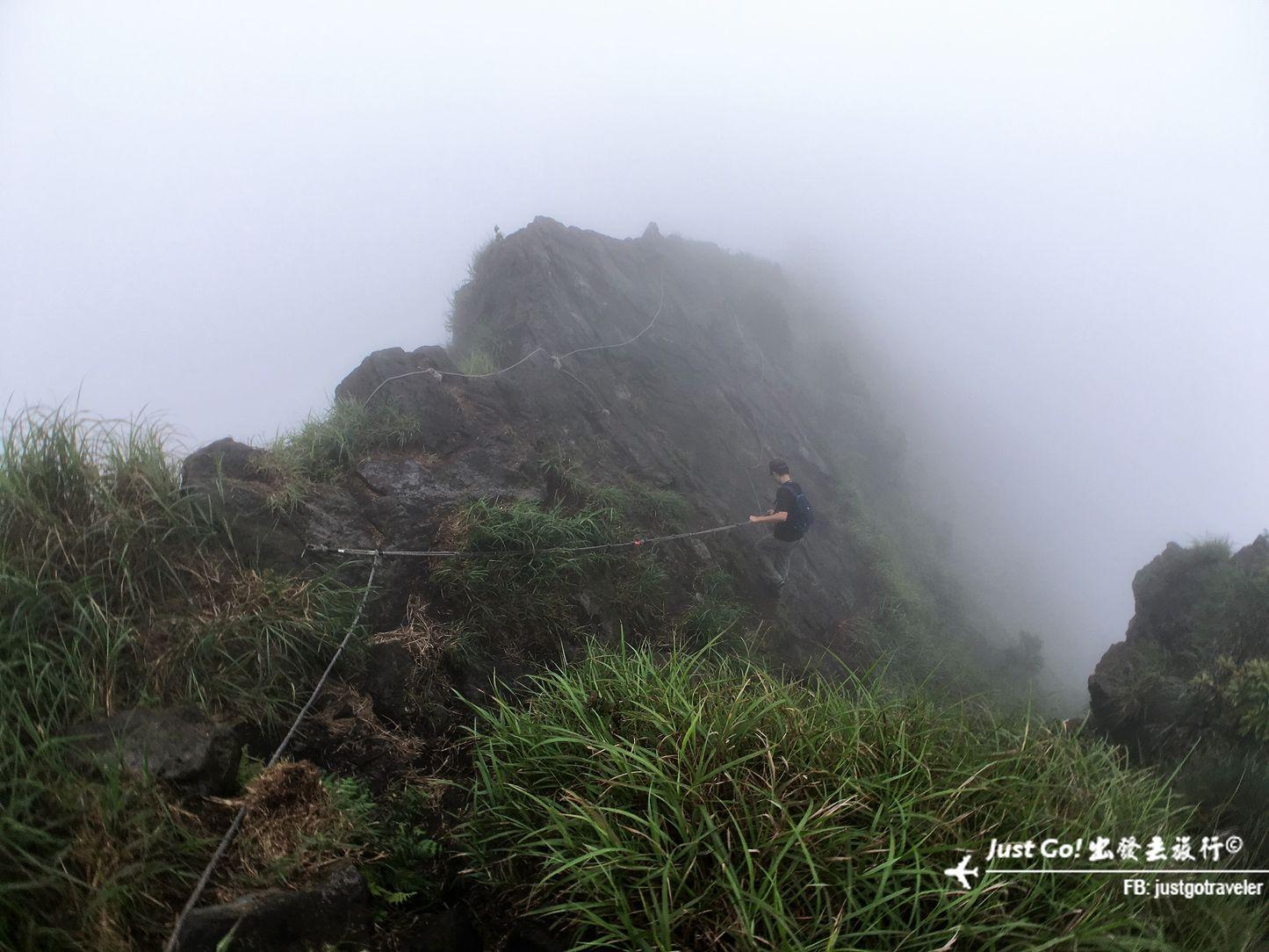 來去黃金稜線! 茶壺山+鋸齒稜+劍龍稜+俯瞰稜19_